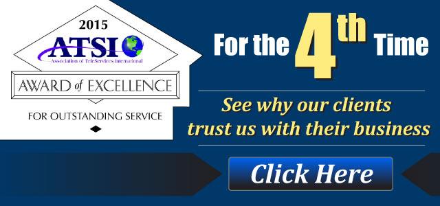 2015 ATSI Award of Excellence